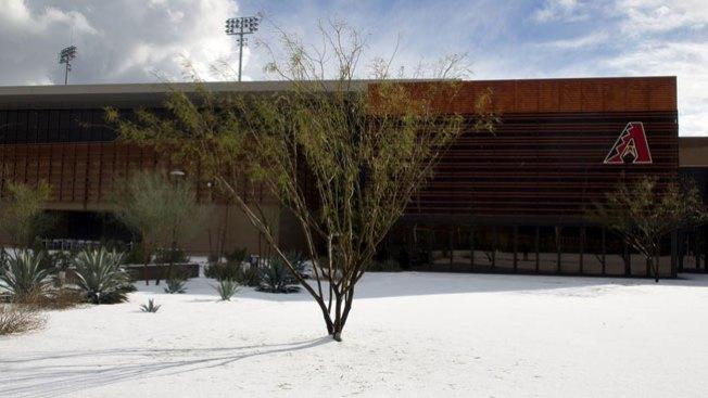 Nieve tapiza centro de EEUU