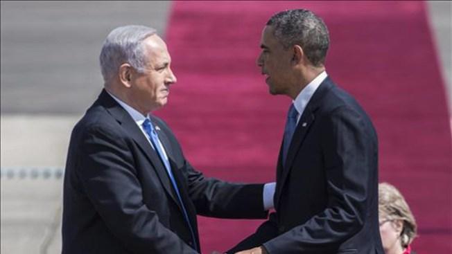 Israel: Obama pide paz para Tierra Santa