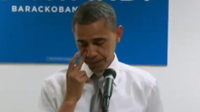 ¿Por qué llora Obama?