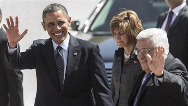 Obama se reúne con presidente palestino