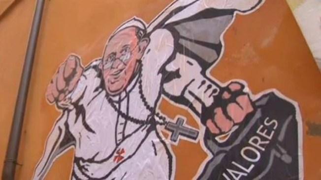 El Papa dice que él no es Superman