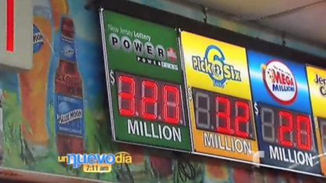 Hay $320 millones en el Powerball