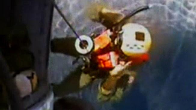 Milagroso rescate en alta mar
