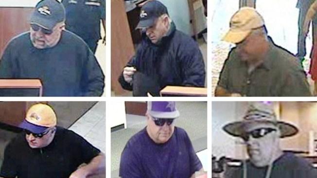 Sospechoso de robo a bancos