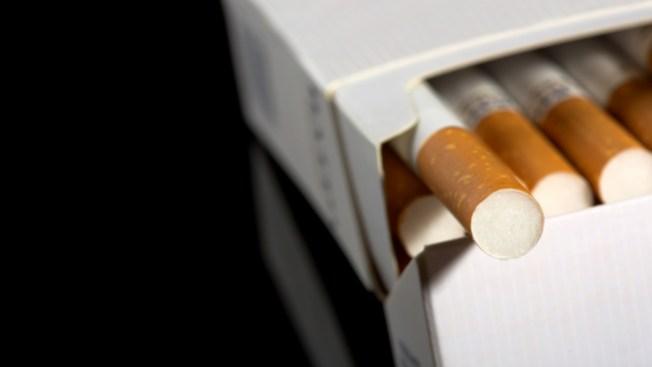 Detenida por robar cigarrillos