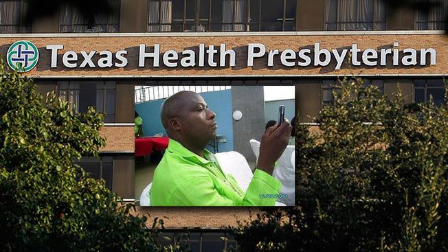 Paciente de ébola en estado critico