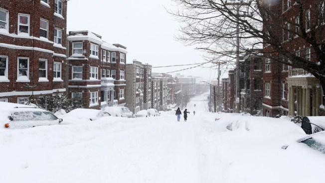 Centro de EE.UU. cubierto de nieve