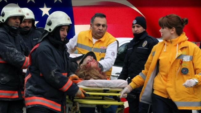 Ataque a embajada EE.UU. en Turquía