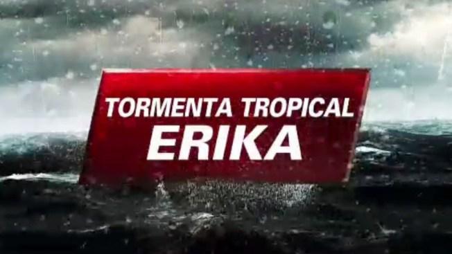 Alerta roja en Dominicana por paso de Érika