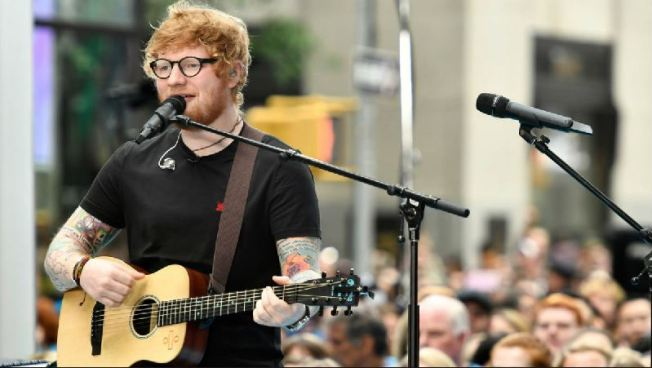 Así Ed Sheeran les dijo a sus fans que fue atropellado