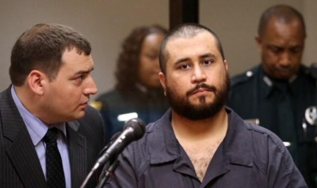 AP: Zimmerman copió foto en pintura