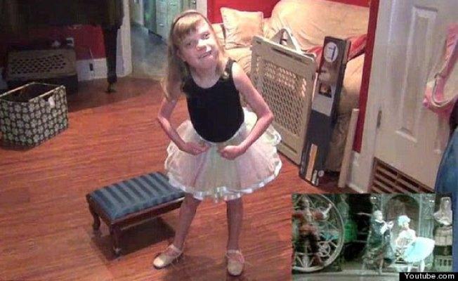 Niña autista baila Coppelia