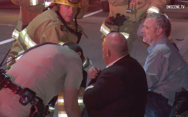 Actor de Hollywood resulta herido tras accidente en California