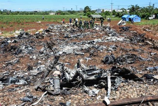 Cuba anuncia avances en la investigación de las causas del accidente aéreo