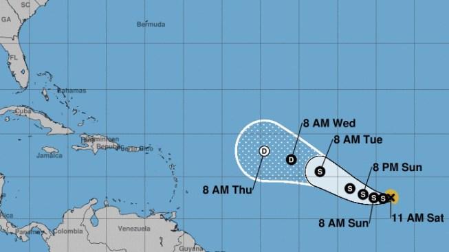 Se forma la depresión tropical número 14