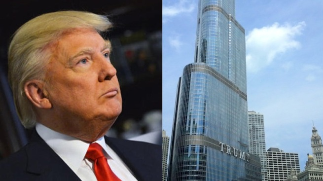 Chicago recibe a Donald Trump con protestas