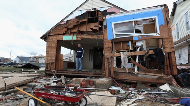Sandy: estado por estado