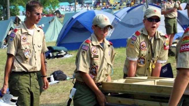 Sí a gays en los Boy Scouts