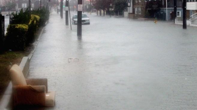 Alcanza Sandy las 90 mph