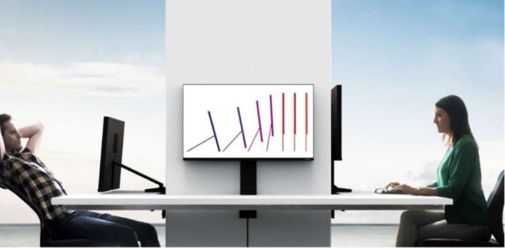 """¿Pagarías por un monitor que te """"limpia"""" el escritorio?"""